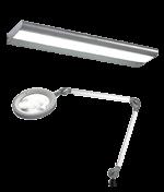 Illuminazione a LED per postazioni di lavoro